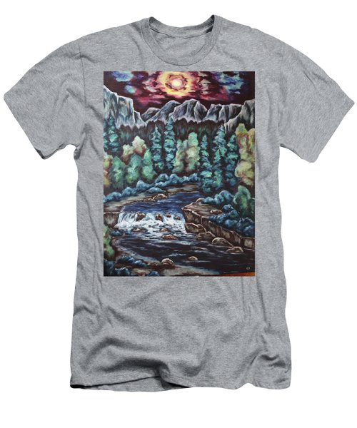 In The Land Of Dreams Men's T-Shirt (Slim Fit) by Cheryl Pettigrew
