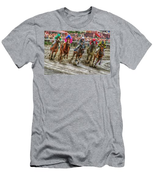 In The Mud Men's T-Shirt (Athletic Fit)