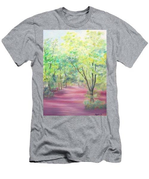 In The Park Men's T-Shirt (Slim Fit) by Elizabeth Lock
