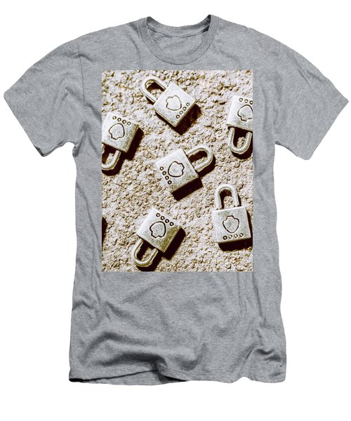 In The Safe Room Men's T-Shirt (Athletic Fit)