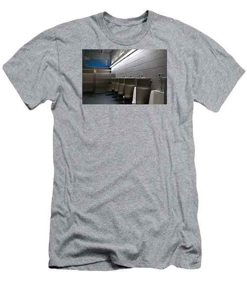 In The Toilet Men's T-Shirt (Slim Fit) by Bob Pardue