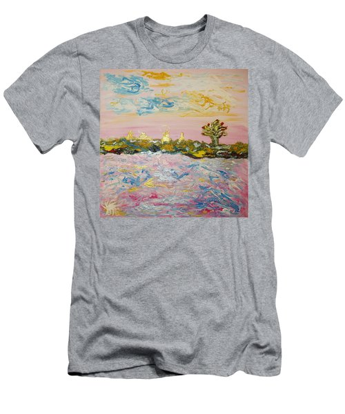 In The World Of Illusions Men's T-Shirt (Athletic Fit)