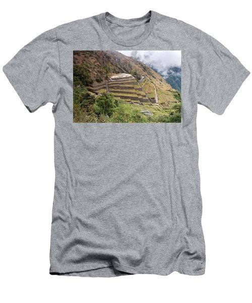 Inca Ruins And Terraces Men's T-Shirt (Athletic Fit)