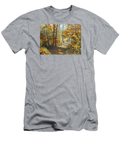 Indian Summer Trail Men's T-Shirt (Athletic Fit)