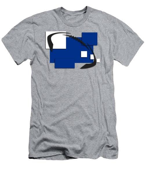 Indianapolis Colts Abstract Shirt Men's T-Shirt (Slim Fit) by Joe Hamilton