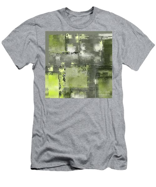 Industrial Abstract - 11t Men's T-Shirt (Slim Fit) by Variance Collections