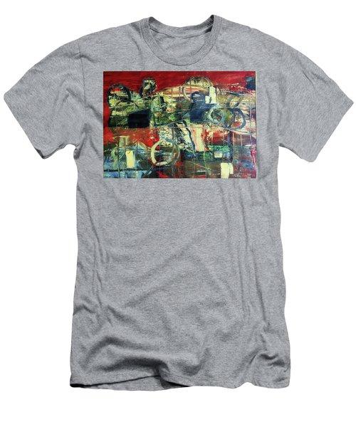 Indy 500 Men's T-Shirt (Athletic Fit)