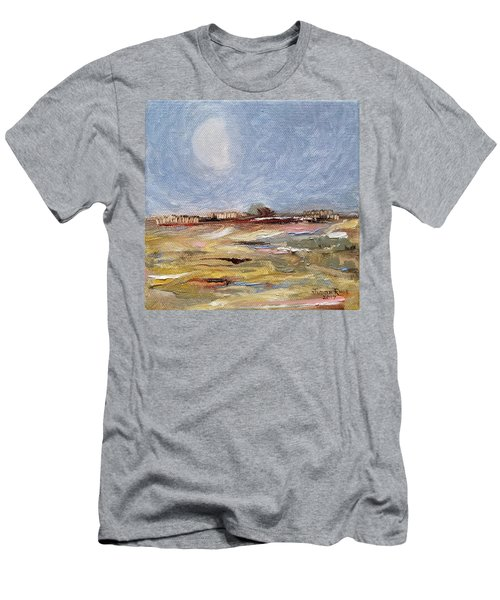 Men's T-Shirt (Athletic Fit) featuring the painting Inevitable Epoch by Judith Rhue