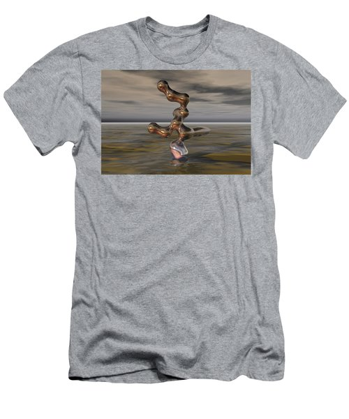 Innovation The Leap Of Imagination  Men's T-Shirt (Athletic Fit)