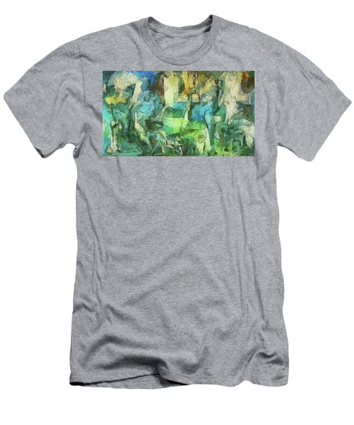 Inspired By Roberto Matta Men's T-Shirt (Athletic Fit)