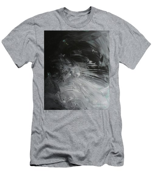 Men's T-Shirt (Athletic Fit) featuring the painting Intelligent Answers by Robin Maria Pedrero