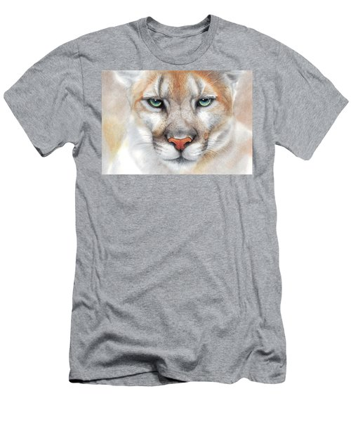 Intensity - Mountain Lion - Puma Men's T-Shirt (Athletic Fit)