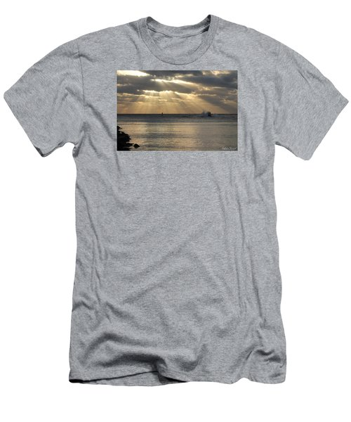 Into Dawn's Early Rays Men's T-Shirt (Slim Fit) by Robert Banach