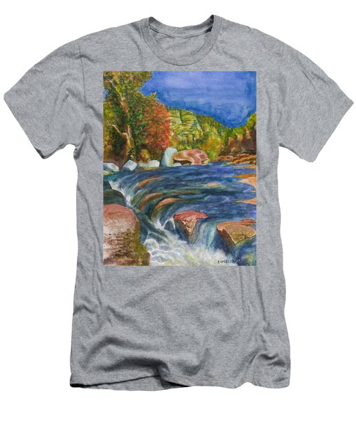Into Slide Rock Men's T-Shirt (Athletic Fit)