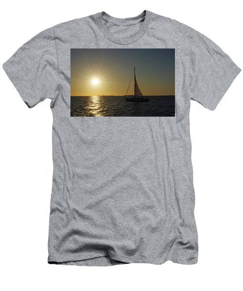 Into The Sun Men's T-Shirt (Slim Fit) by Greg Graham