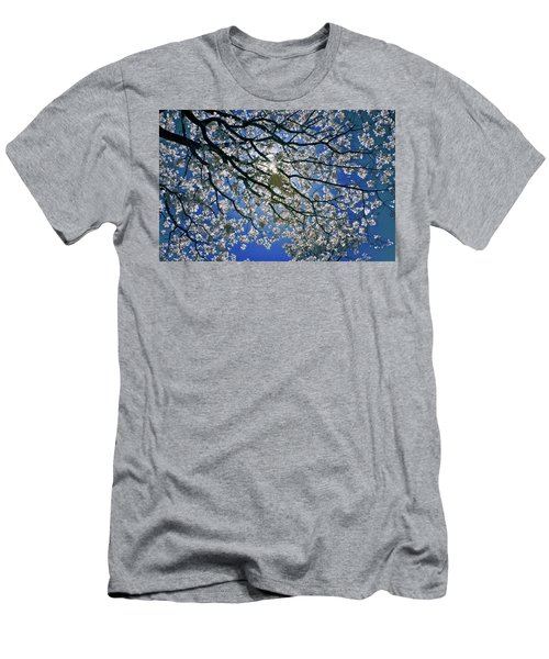 Men's T-Shirt (Slim Fit) featuring the photograph Into The Sun by Linda Unger