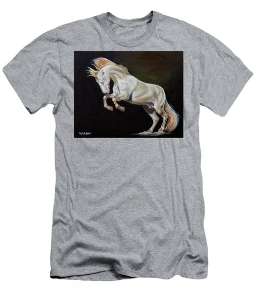 Intrepid Men's T-Shirt (Slim Fit) by Phyllis Beiser