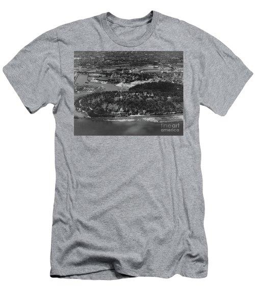 Inwood Hill Park Aerial, 1935 Men's T-Shirt (Athletic Fit)