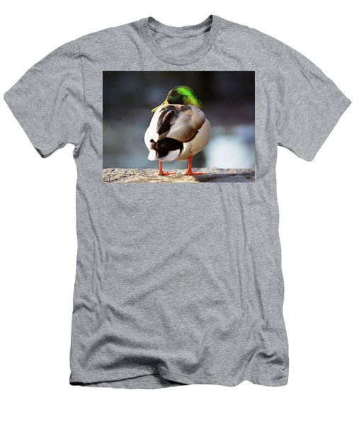 Men's T-Shirt (Athletic Fit) featuring the photograph Iridescense by Sue Collura