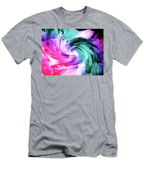 Iris Abstract  Men's T-Shirt (Athletic Fit)