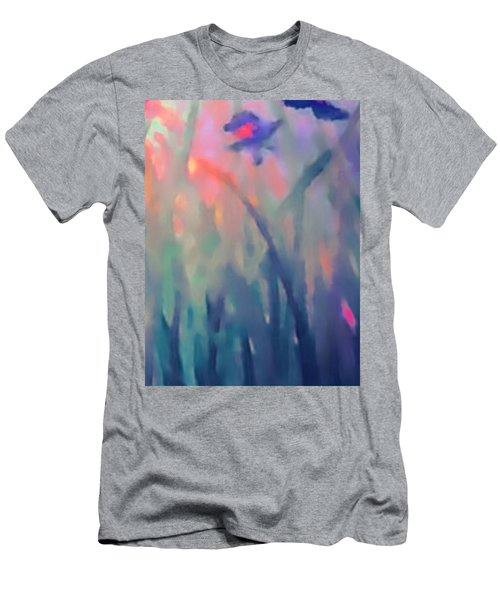 Iris Men's T-Shirt (Slim Fit) by Holly Martinson