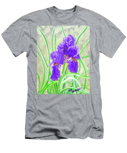 Iris Hope Men's T-Shirt (Athletic Fit)