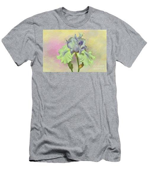 Iris Pastels Men's T-Shirt (Athletic Fit)