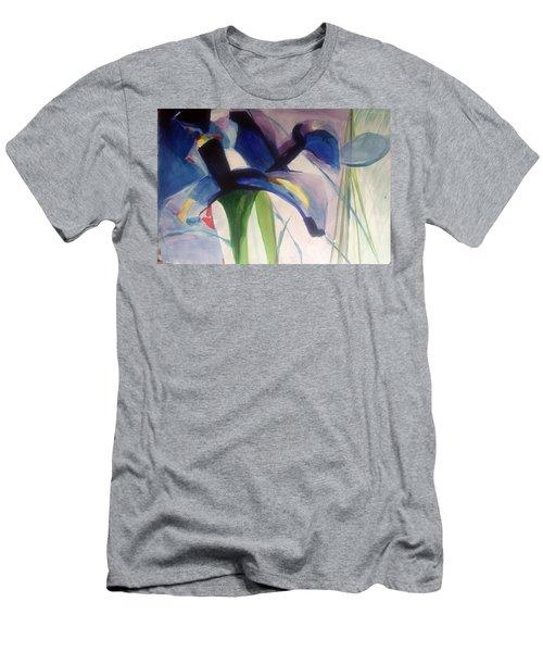 Iris  Power Men's T-Shirt (Athletic Fit)