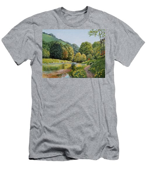 Irish Afternoon Stroll Men's T-Shirt (Athletic Fit)