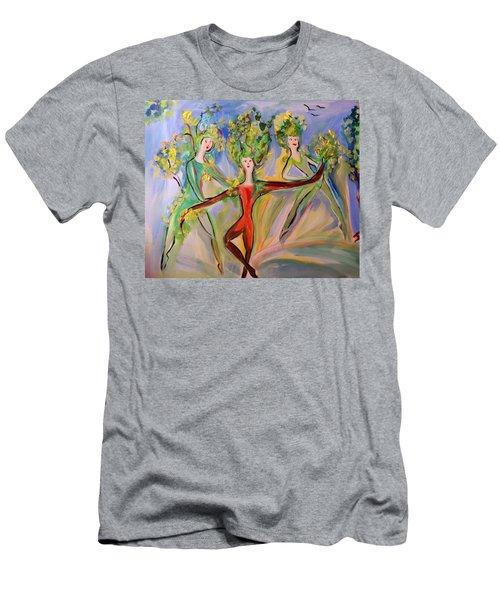 Irish Greenery  Men's T-Shirt (Athletic Fit)