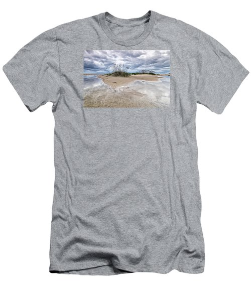 Private Island Men's T-Shirt (Slim Fit) by Alan Raasch