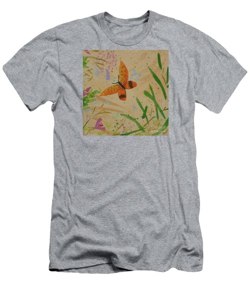 Island Butterfly Series 3 Of 6 Men's T-Shirt (Athletic Fit)