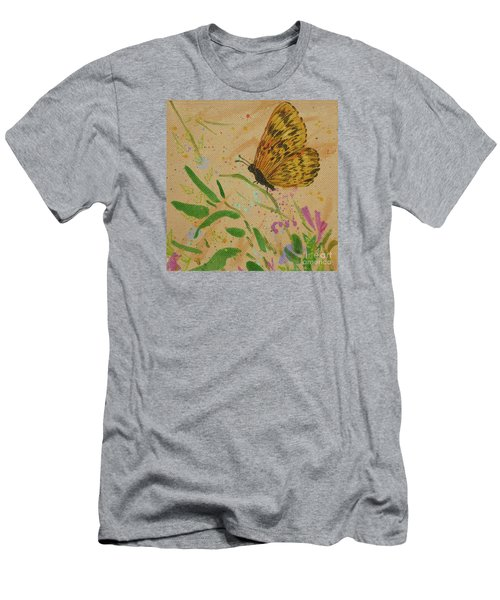 Island Butterfly Series 4 Of 6 Men's T-Shirt (Athletic Fit)