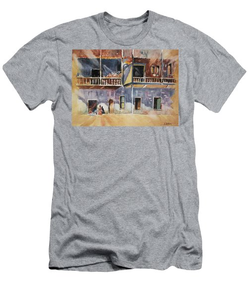 Island Community Men's T-Shirt (Slim Fit) by Al Brown