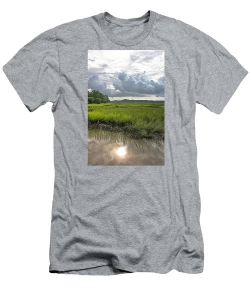 Men's T-Shirt (Slim Fit) featuring the photograph Island by Margaret Palmer