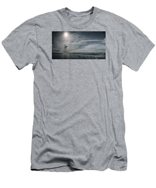 Island Panorama Men's T-Shirt (Athletic Fit)