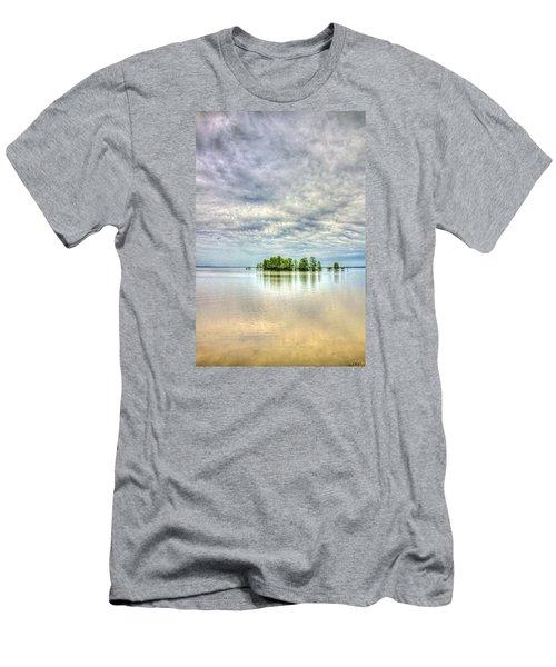 Island Storm Men's T-Shirt (Athletic Fit)