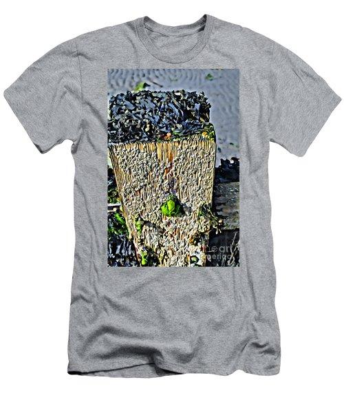 Isle Of Man Low Tide Men's T-Shirt (Athletic Fit)