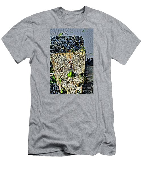Men's T-Shirt (Athletic Fit) featuring the photograph Isle Of Man Low Tide by Beauty For God