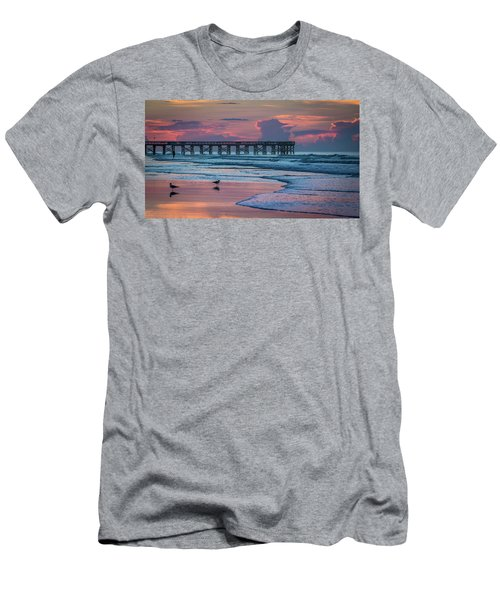 Isle Of Palms Morning Men's T-Shirt (Athletic Fit)