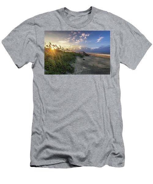 Isle Of Palms Sunstar Men's T-Shirt (Athletic Fit)