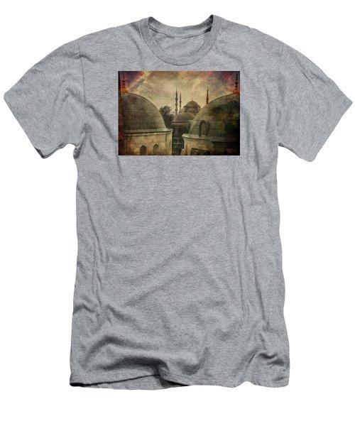 Istambul Mood Men's T-Shirt (Slim Fit) by Vittorio Chiampan
