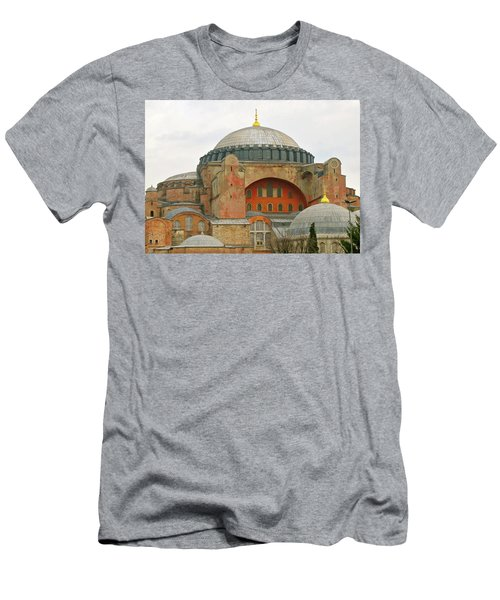 Men's T-Shirt (Slim Fit) featuring the photograph Istanbul Dome by Munir Alawi