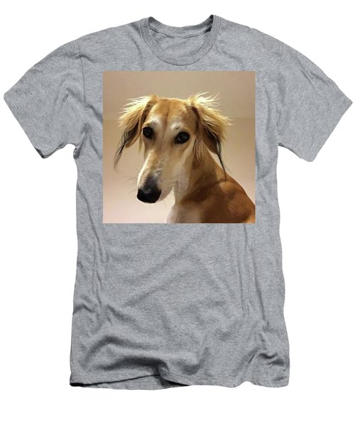 It Looks Like It Will Be A Bad Hair Day Men's T-Shirt (Athletic Fit)
