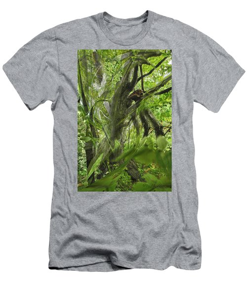 It Was A Windy Day.... Men's T-Shirt (Athletic Fit)