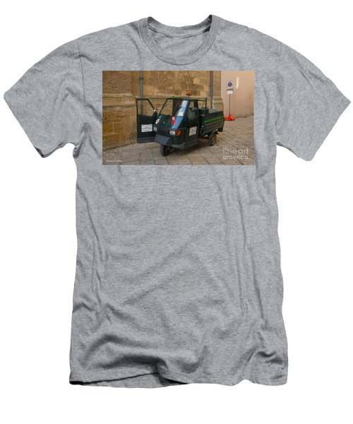 Italian Garbage Truck Men's T-Shirt (Athletic Fit)