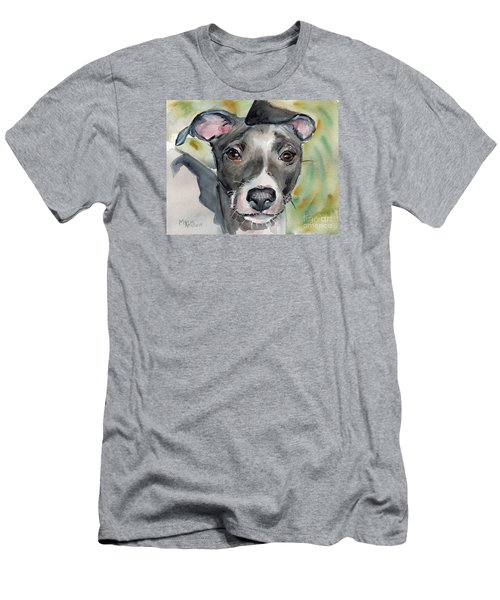 Italian Greyhound Watercolor Men's T-Shirt (Athletic Fit)