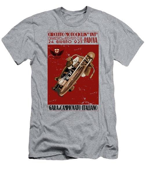 Italian Motorcycle Championship Race Men's T-Shirt (Athletic Fit)