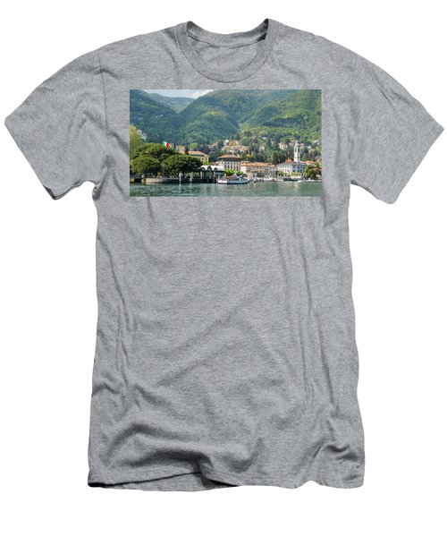 Italian Village On Lake Como Men's T-Shirt (Athletic Fit)