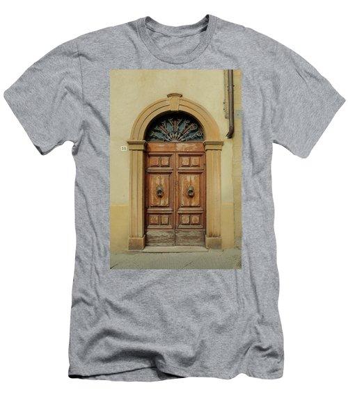 Italy - Door One Men's T-Shirt (Athletic Fit)